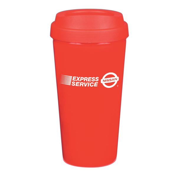 16oz Double Wall Plastic Tumbler